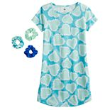 Girls 4-18 SO® Curved Hem Nightgown in Regular & Plus Size
