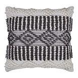 SAATVIK Handwoven Throw Pillow
