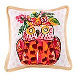 Terrasol Owl Be There Indoor Outdoor Throw Pillow