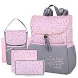 Baby Essentials 5-in-1 Diaper Backpack