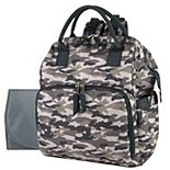 Baby Essentials Camouflaged Frame Diaper Backpack