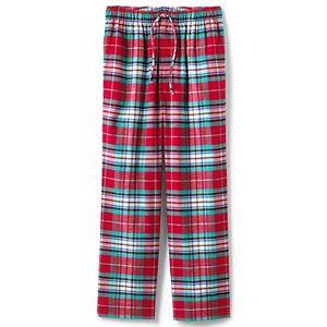 Men's Lands' End Flannel Pajama Pants