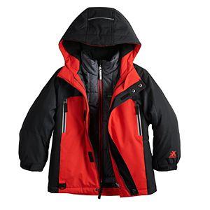 Boys 4-7 ZeroXposur Trevor System 3-In-1 Jacket