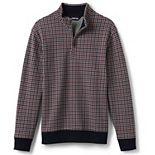 Men's Lands' End Bedford Ribbed Quarter-Zip Sweater