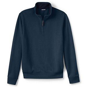 Big & Tall Lands' End Big and Tall Bedford Quarter-Zip Sweater