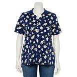 Plus Size Croft & Barrow® Essential Polo Shirt