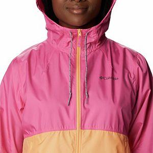 Women's Columbia Flash Forward Hood Colorblock Windbreaker Jacket