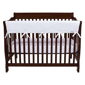 Trend Lab CribWrap® Wide 3 Pack White Fleece Crib Rail Covers