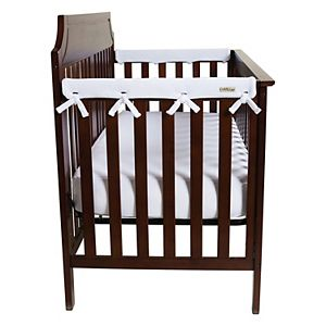 Trend Lab CribWrap® Narrow 3 Pack White Fleece Crib Rail Covers