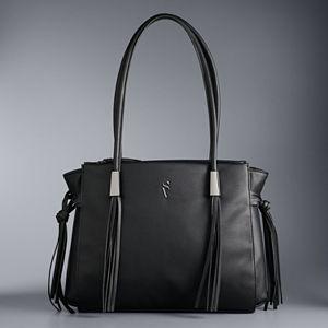 Simply Vera Vera Wang Malta Fringe Tote Bag
