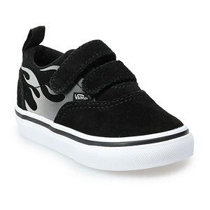 Vans® Doheny V Kids' Silver Flame Skate Shoes