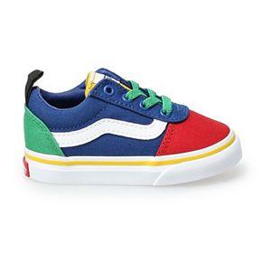 Vans® Ward Kids' Multi-Colored Slip On Skate Shoes