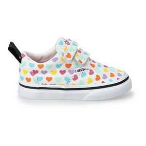 Vans® Doheny V Kids' Rainbow Hearts Skate Shoes