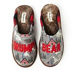 Men's Dearfoams Family Bear Scuff Slippers