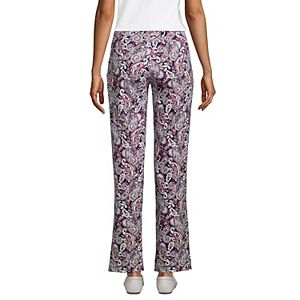 Petite Lands' End Starfish Straight-Leg Pull-On Pants