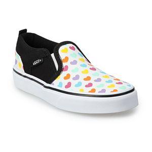 Vans® Asher Rainbow Heart Skate Shoes