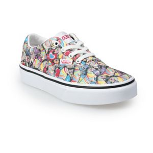 Vans® Doheny Kids' Unicorn & Hearts Skate Shoes