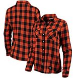 Women's Levi's® Orange San Francisco Giants Western Full-Snap Shirt