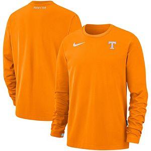 Men's Nike Tennessee Orange Tennessee Volunteers Performance Top Crew Sweatshirt