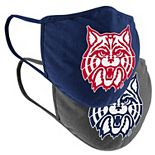 Adult Colosseum Arizona Wildcats Logo Face Covering 2-Pack