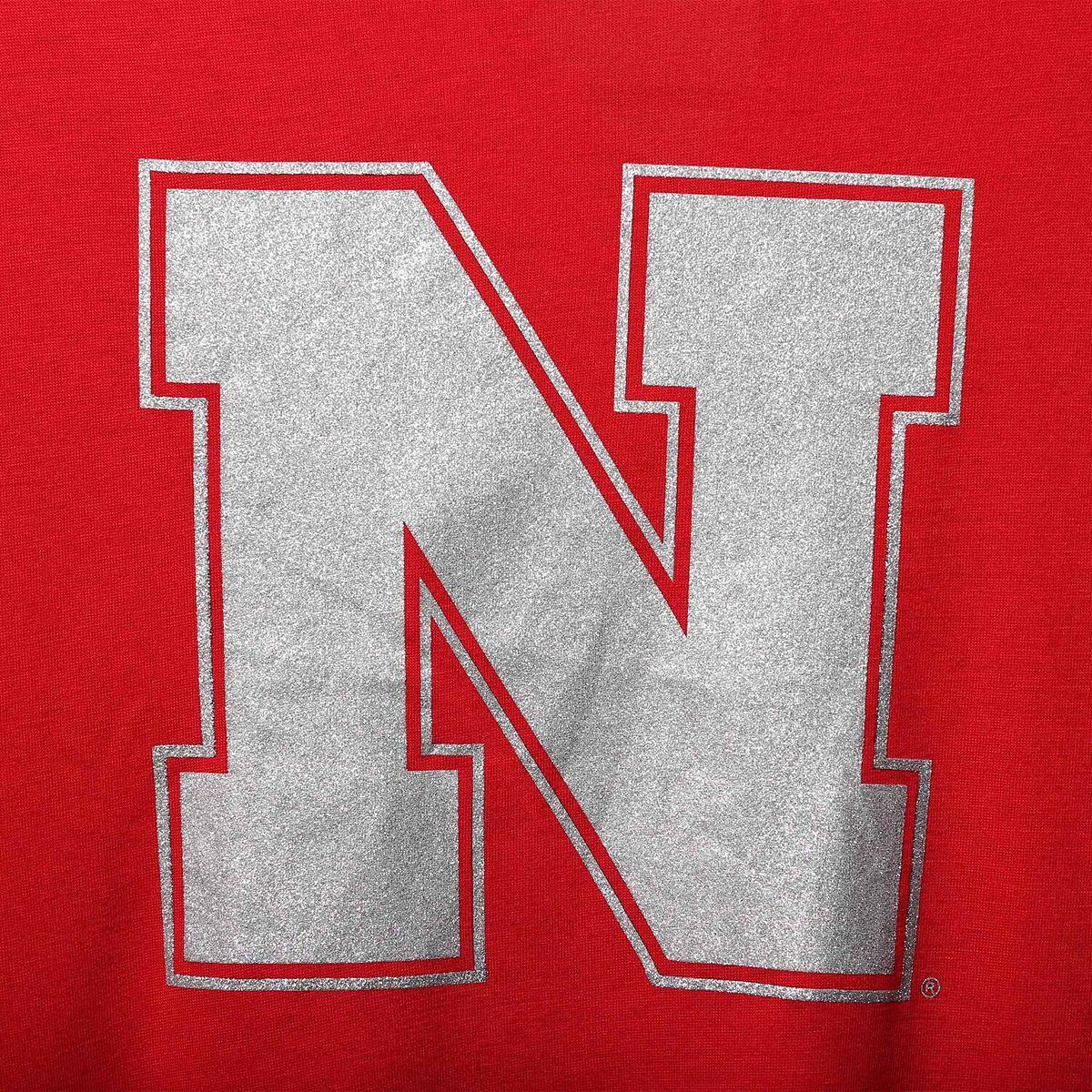Women's Colosseum Scarlet Nebraska Cornhuskers Lucy Strappy T-Shirt kagZl