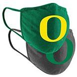 Adult Colosseum Oregon Ducks Logo Face Covering 2-Pack