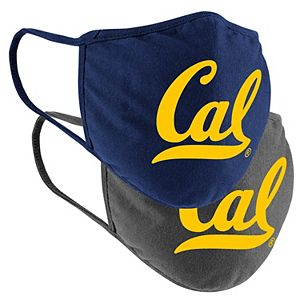 Adult Colosseum Cal Bears Logo Face Covering 2-Pack