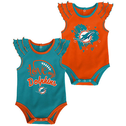 Nfl Miami Dolphins Baby Clothing Kohl S, Miami Dolphins Crib Bedding Sets