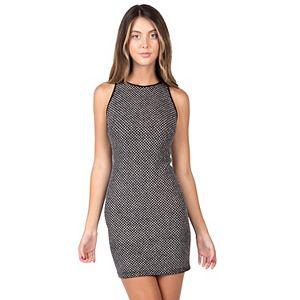 Juniors' B. Smart Bodycon Sleeveless Dress
