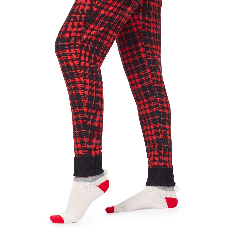 Women's Cuddl Duds® Long Sleeve Pajama Top, Pajama Pants & Socks Set
