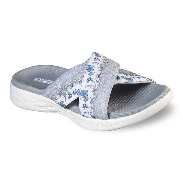 Skechers On The Go 600 Blooms Women S Sandals