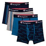 Boys 4-20 Champion® 4-Pack Boxer Briefs