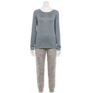 Women's Sonoma Goods For Life® Long Sleeve Pajama Top, Pajama Pants & Socks Set