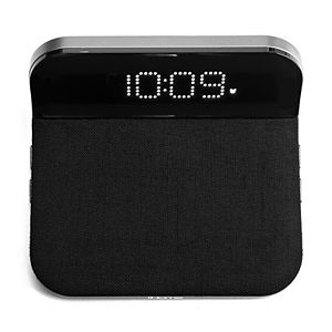iHome iW18BG Compact Alarm Clock with Qi Wireless Charging
