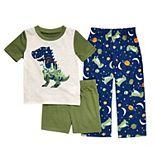 Toddler Boy Cuddl Duds® Dinosaur Pajama Set