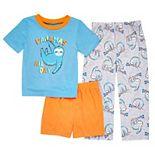 Toddler Boy Cuddl Duds® Sloth Pajama Set