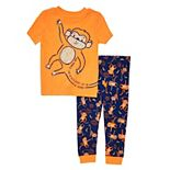 Baby Boy Cuddl Duds® Monkey Pajama Set