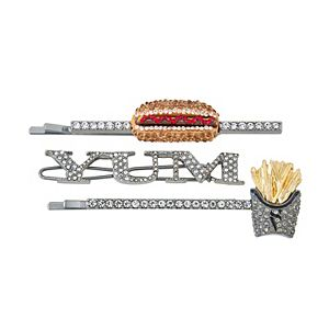 Simply Vera Vera Wang Hematite Savory Food Hair Pin Set