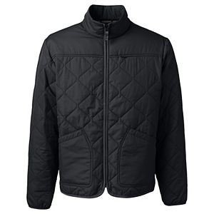 Big & Tall Lands' End Insulated Quilted Winter Jacket