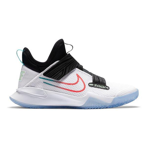 Misterio Oblicuo Café  Nike Zoom Flight Grade School Kids' Basketball Shoes