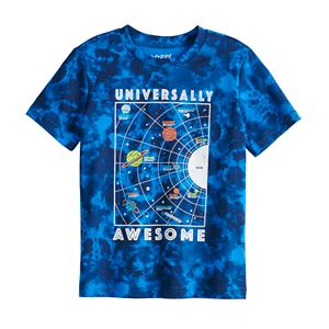 Boys 4-12 Jumping Beans® Tie-Dyed Graphic Tee