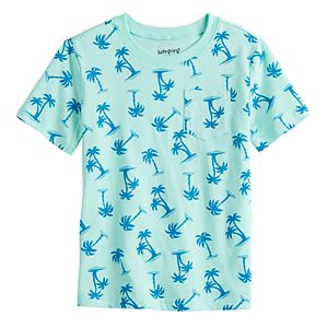 Boys 4-12 Jumping Beans Graphic Pocket Tee