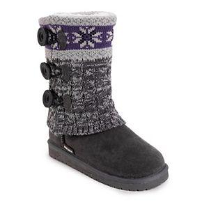 MUK LUKS Cheryl Women's Water-Resistant Winter Boots