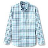 Men's Lands' End Traditional-Fit No-Iron Twill Button-Down Shirt