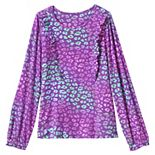 Girls 7-16 Lands' End Ruffle Knit Top in Plus Size