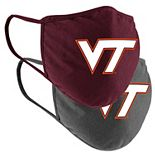 Adult Colosseum Virginia Tech Hokies Face Covering 2-Pack