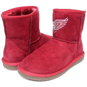 Girls Preschool Cuce Detroit Red Wings Rookie 2 Boots