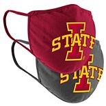 Adult Colosseum Iowa State Cyclones Face Covering 2-Pack
