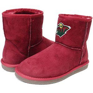 Girls Preschool Cuce Minnesota Wild Rookie 2 Boots