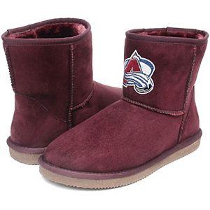 Girls Preschool Cuce Colorado Avalanche Rookie 2 Boots